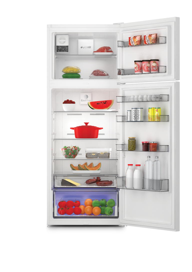 Arçelik 570505MB No Frost Buzdolabı İç Görüntüsü