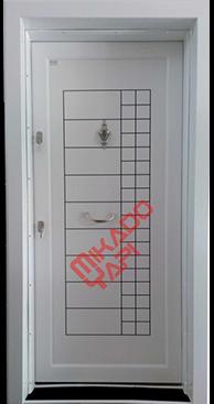 Mikado Çelik Kapı