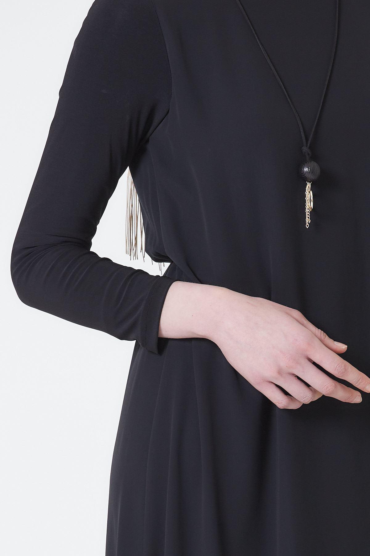 Armine Abiye Elbise Siyah 1