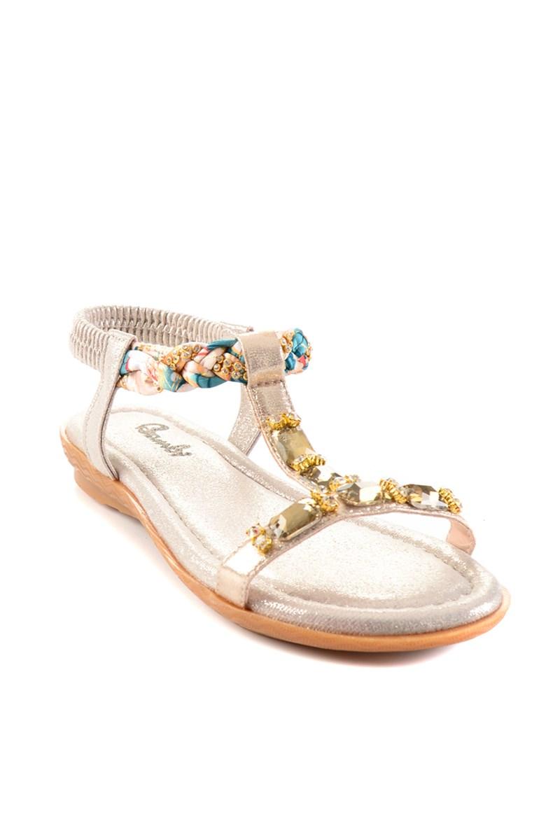 Bambi Altın Sandalet H0625010978 1