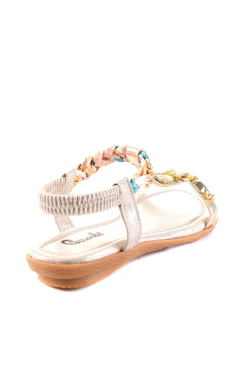 Bambi Altın Sandalet H0625010978 2
