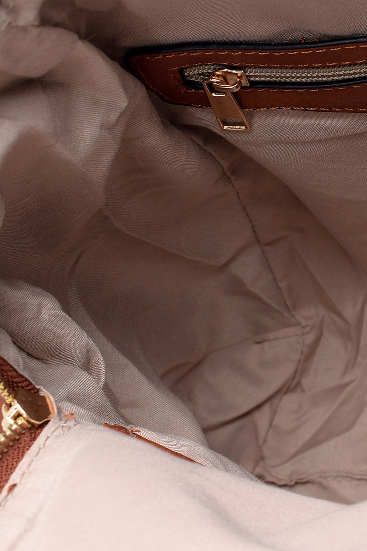 Derimod Kahverengi Kadın Casual Sırt Çantası 19SBD257018 3