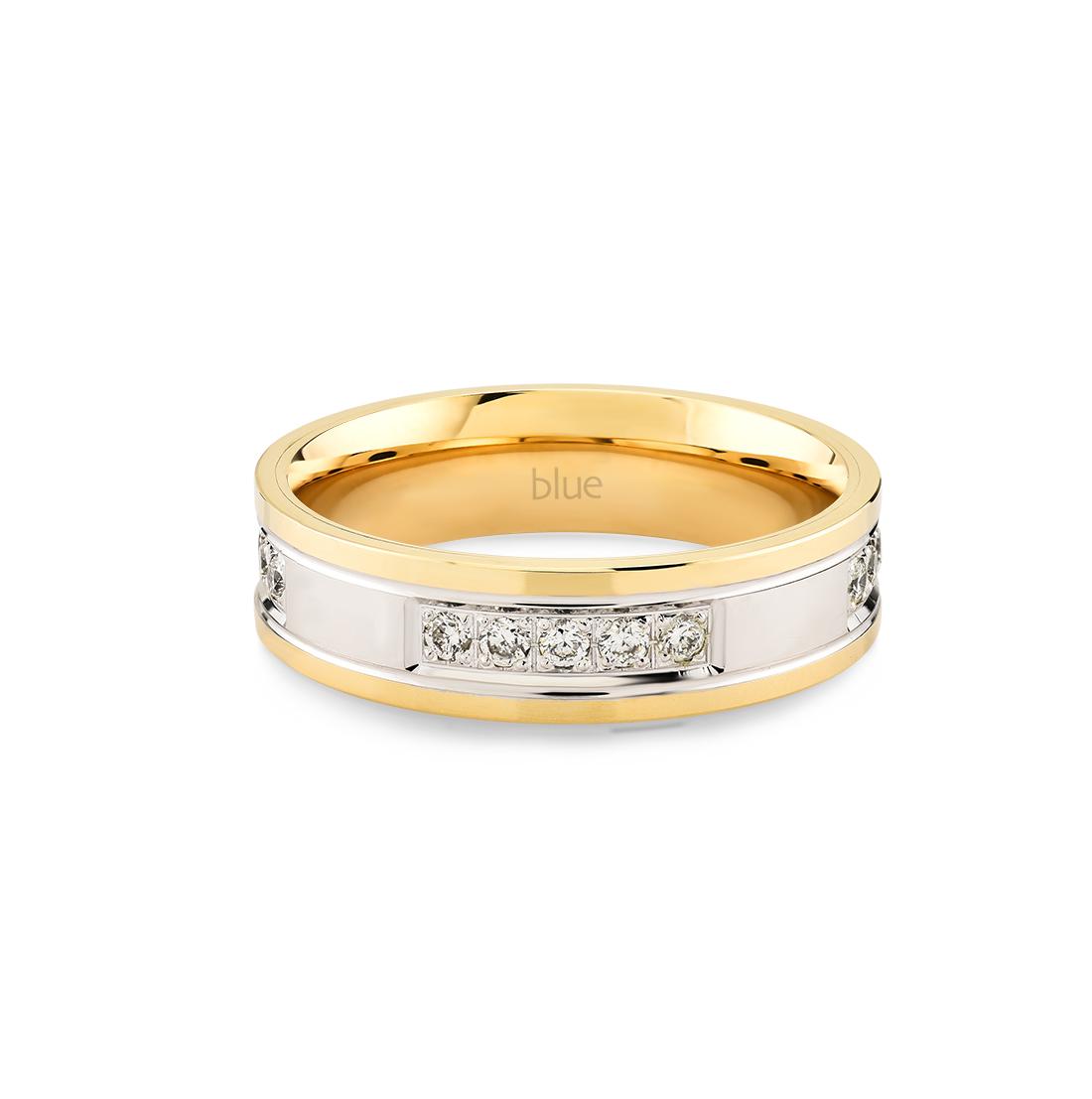 Pırlantalı Evlilik Alyansı 1
