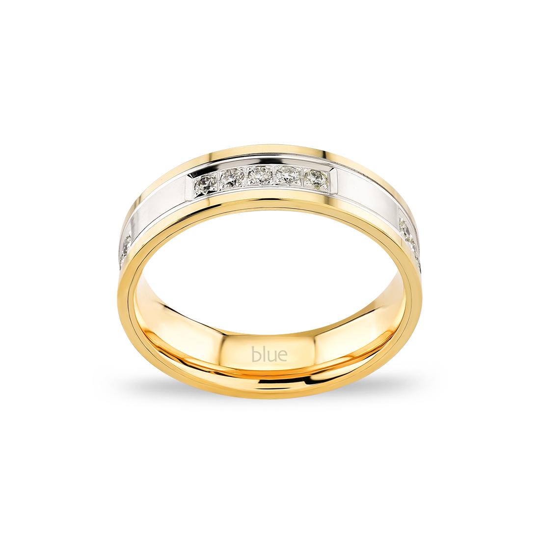 Pırlantalı Evlilik Alyansı