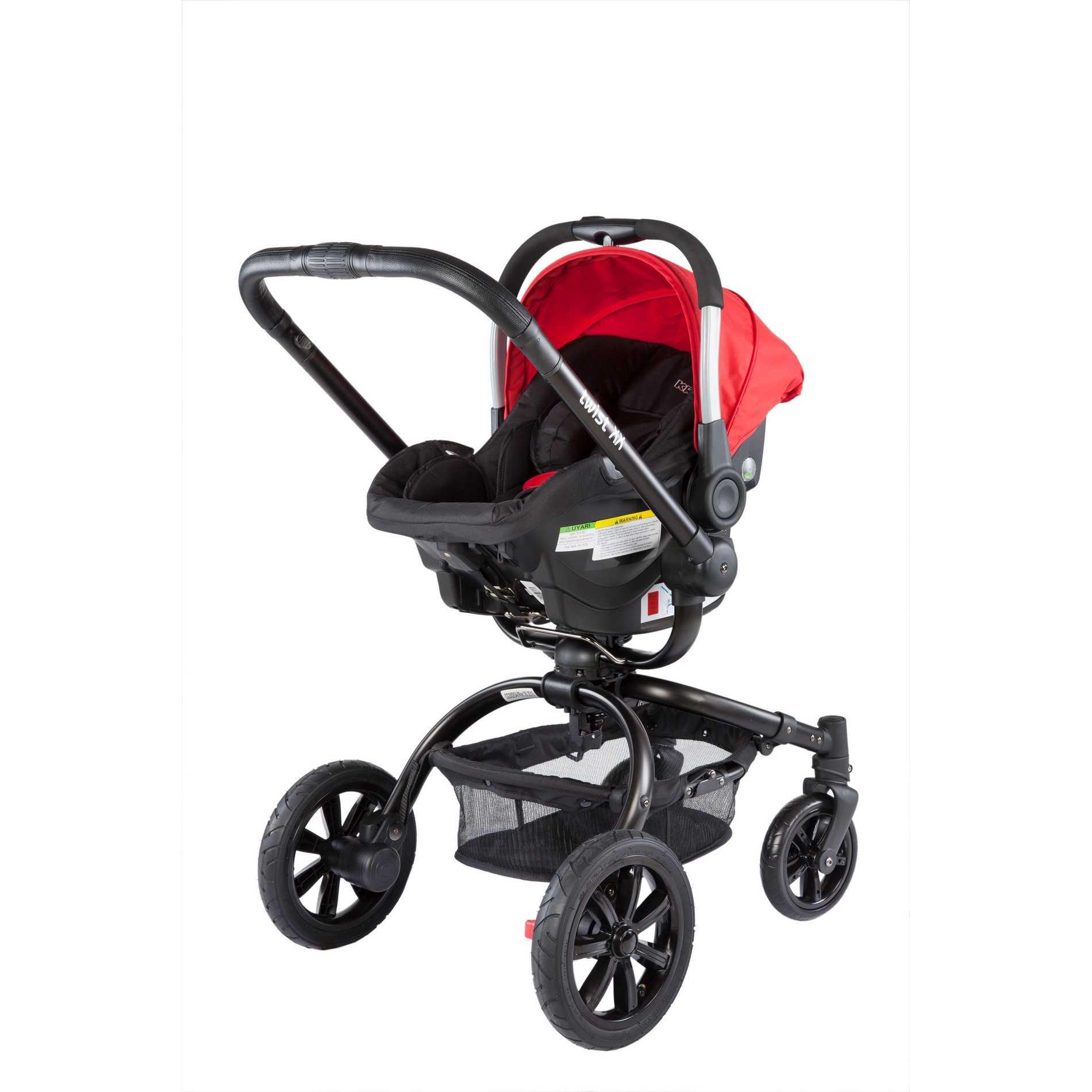Twist XLX Travel Sistem Bebek Arabası Kırmızı