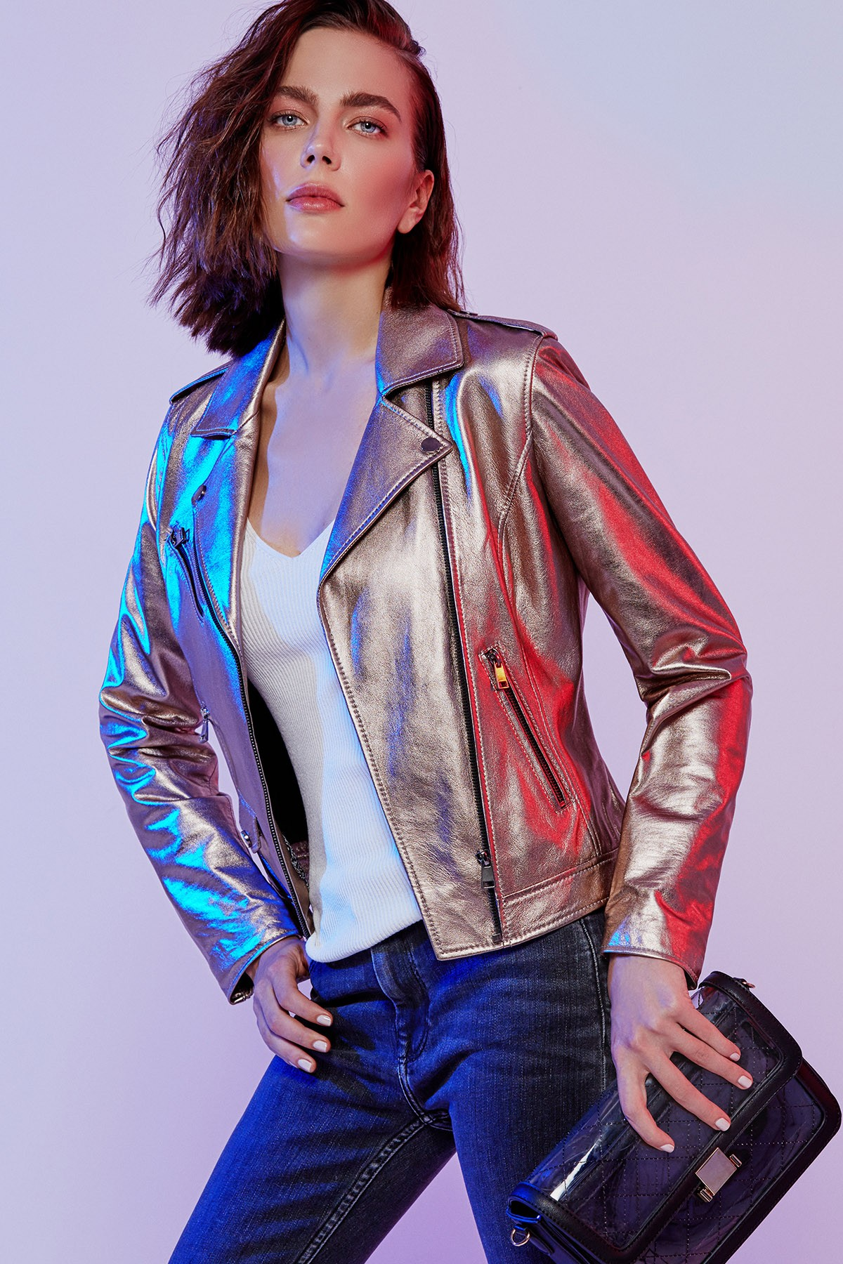 Venice Kadın Deri Ceket