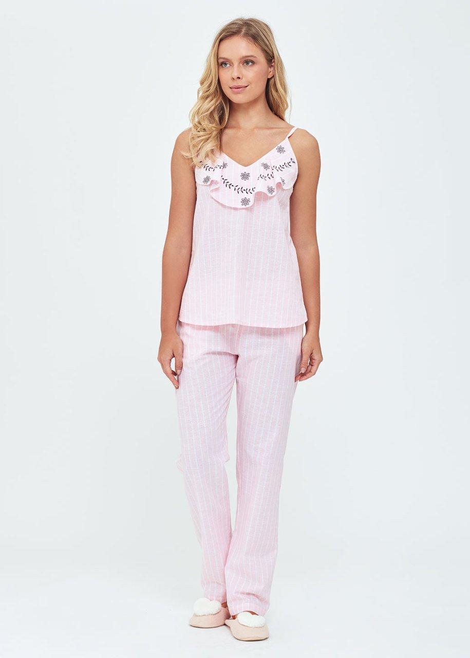 Askılı Pijama Takımı