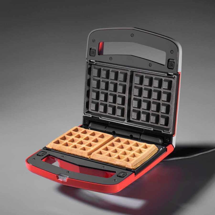 Kırmızı Waffle Makinesi