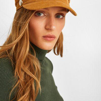 Kahverengi Kasket Şapka
