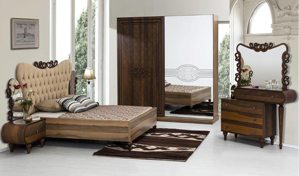 Azra Ceviz Yatak Odası Takımı
