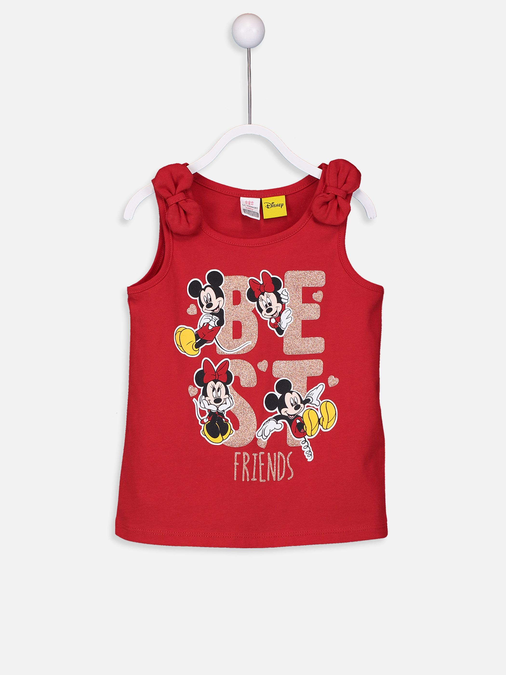 Mickey ve Minnie Mouse Baskılı Atlet 1