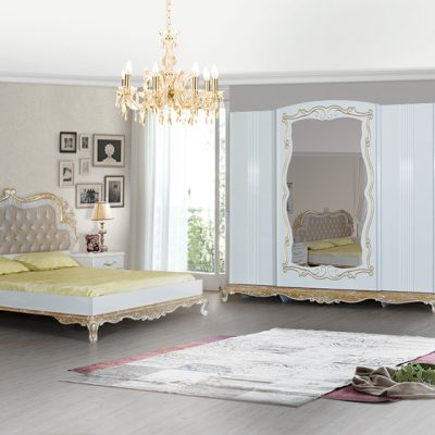 İnci Varaklı Yatak Odası Takımı