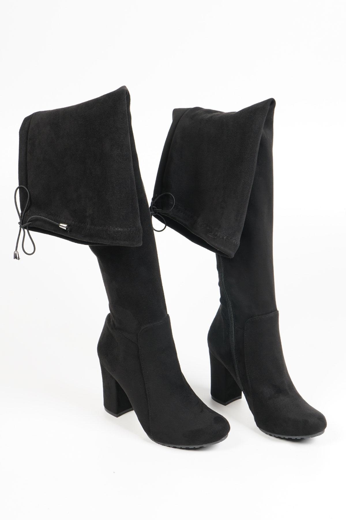 İdante Topuklu Çizme