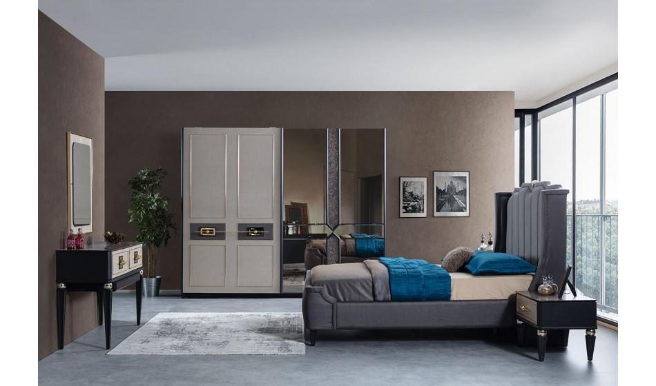 Gold Art Deco Yatak Odası Takımı 1