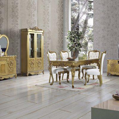 Gold Yemek Odası Takımı