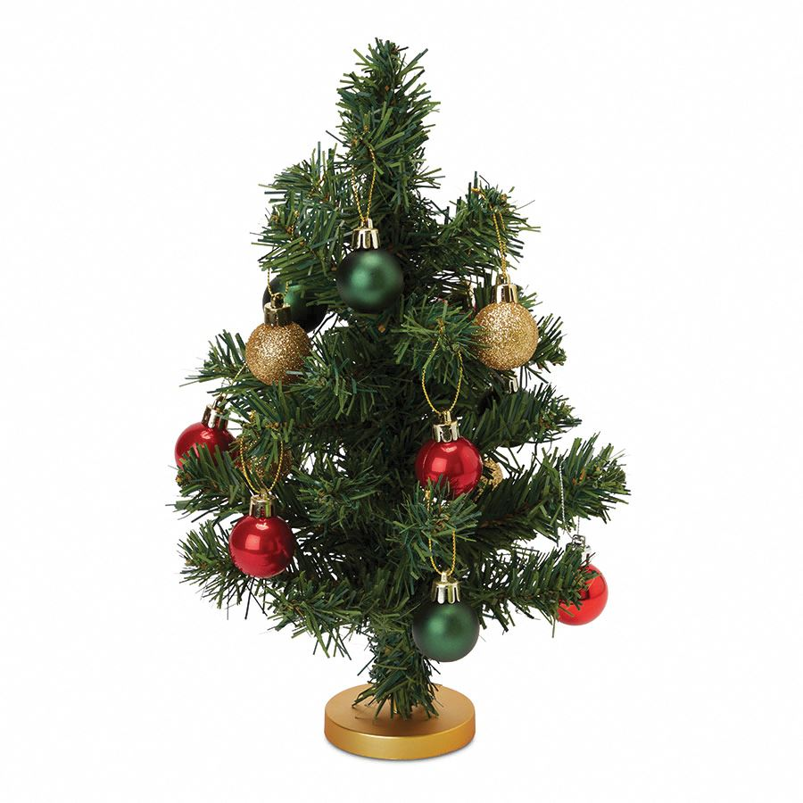 Top Süslemeli Yılbaşı Ağacı