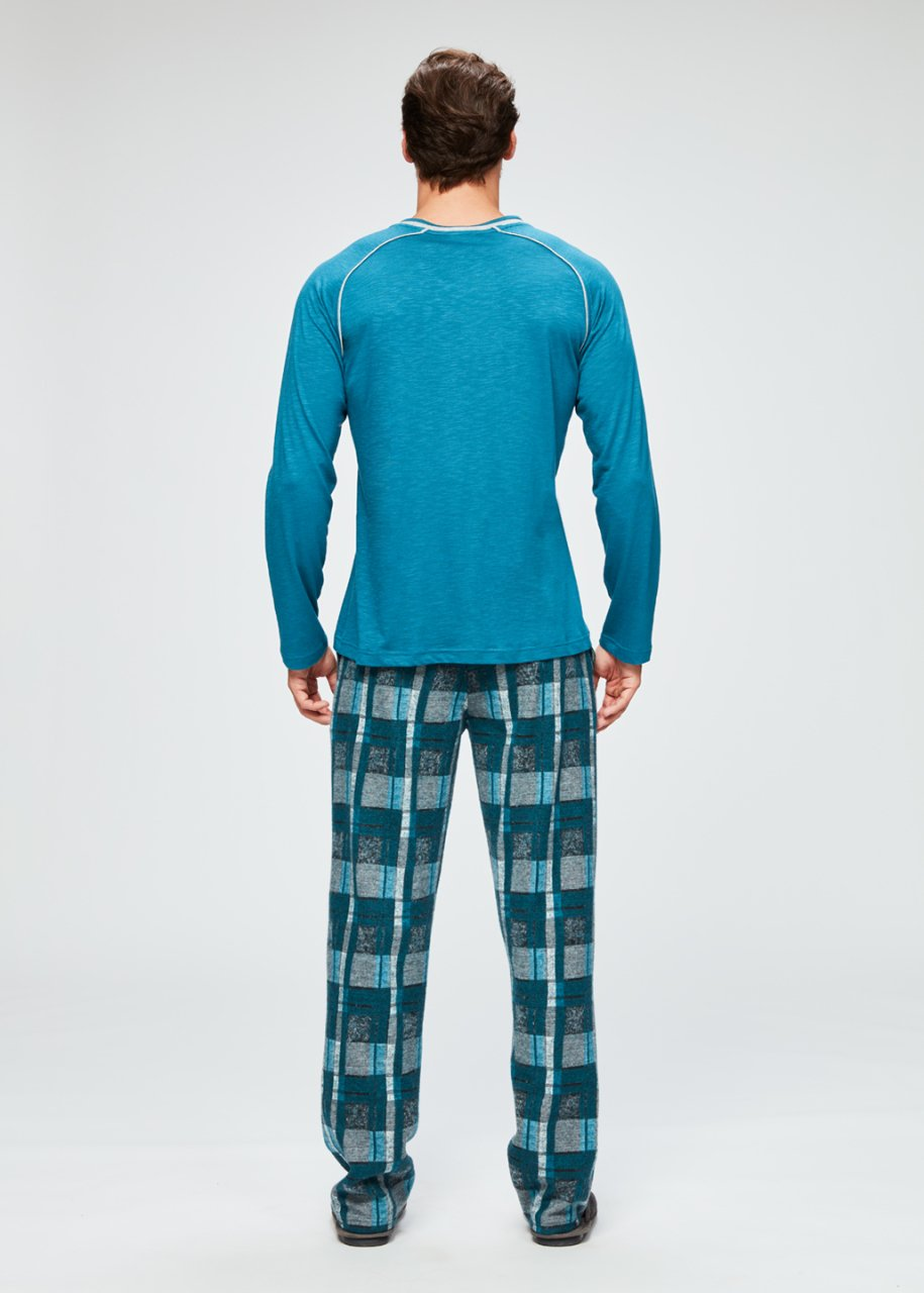 Jakar Uzun Kol Pijama Takımı