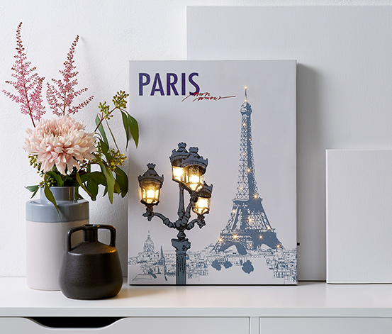 Paris Led Işıklı Tabela