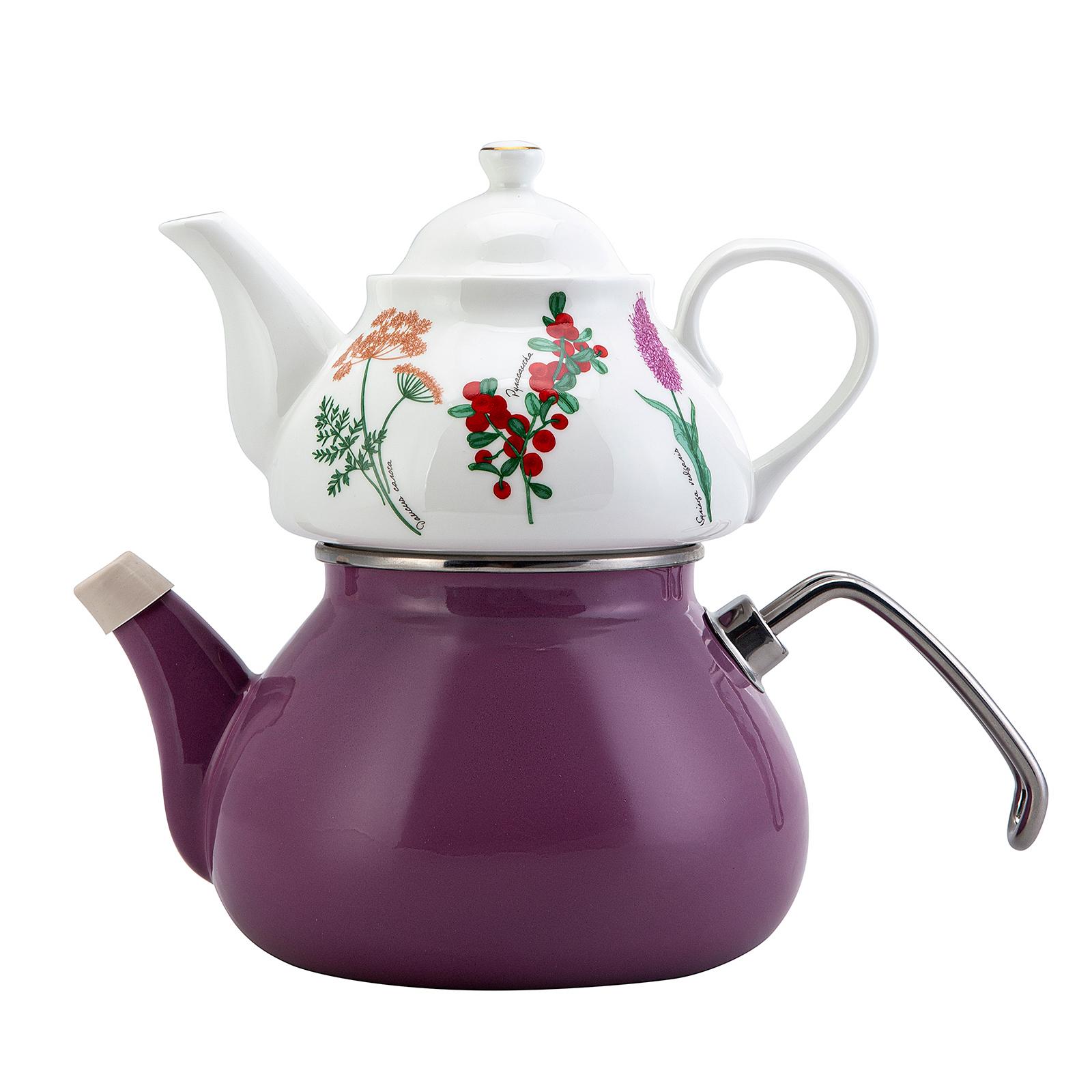 İris Porselen Çaydanlık Takımı
