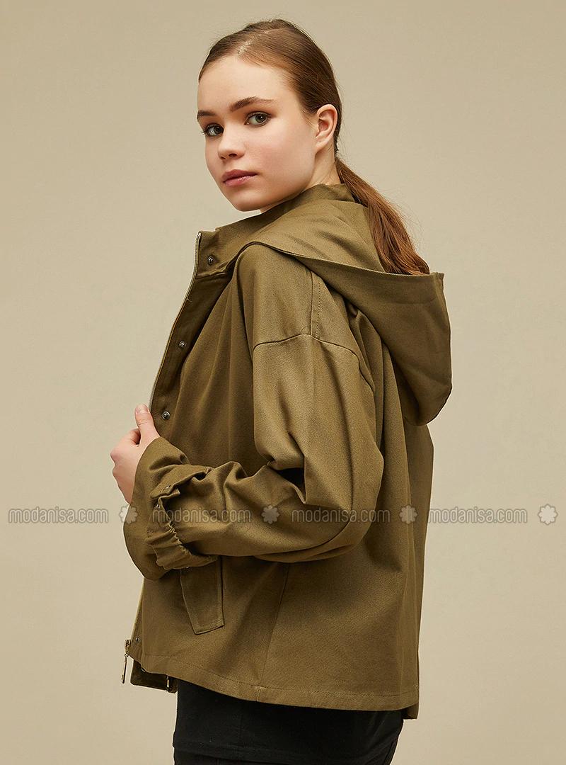 Kapüşonlu Ceket-