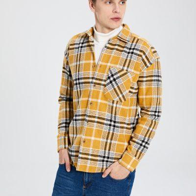 Uzun Kollu Oduncu Gömlek