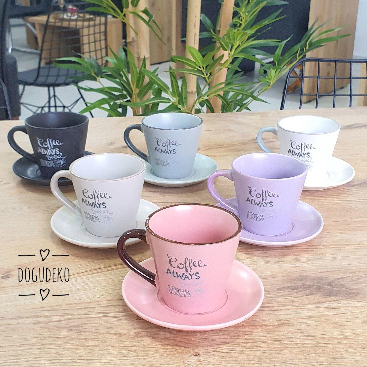 Çay & Neskafe Fincan Takımı