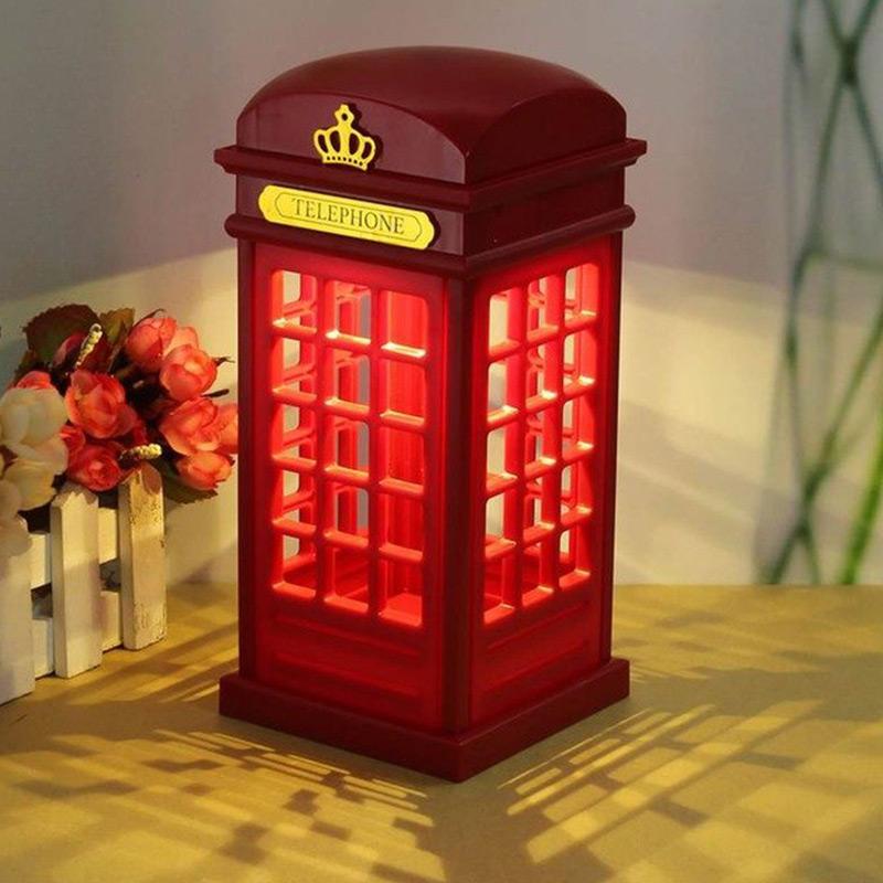 Londra Telefon Kulübesi Lamba--