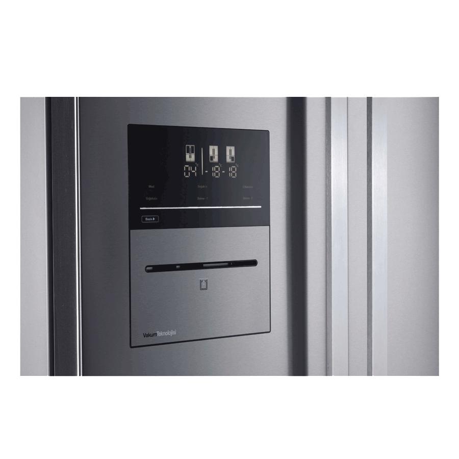 655 Lt A+ No-Frost Buzdolabı Ex Vakum-