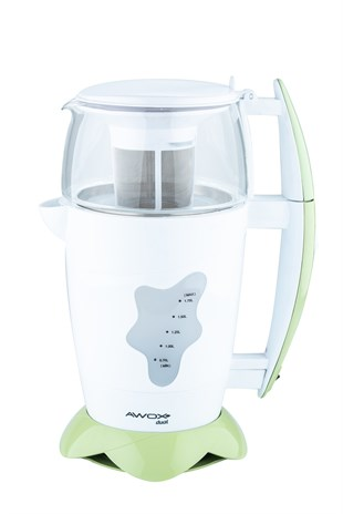 Awox Dual Yeşil Çay Makinesi