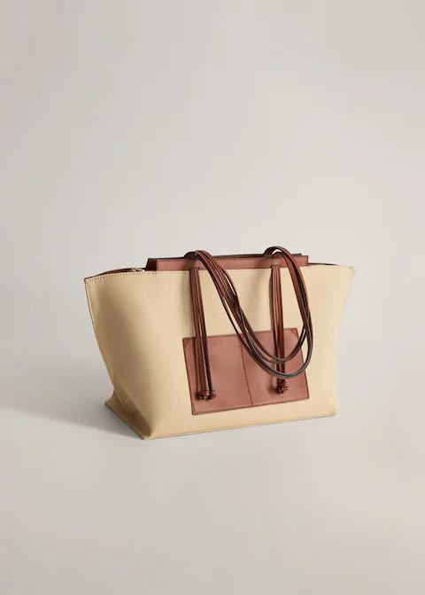Pamuklu Shopper Çanta-