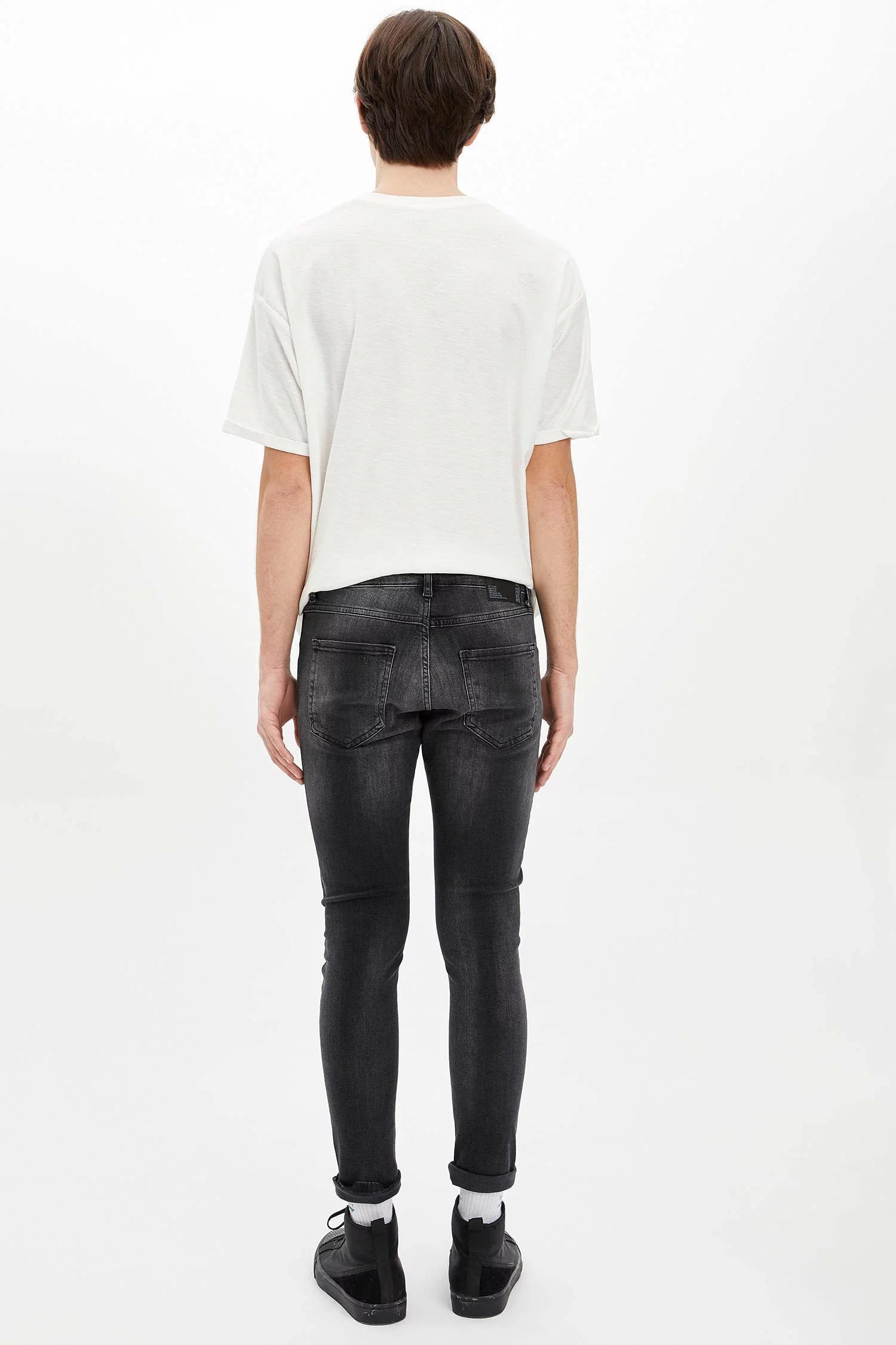 Skinny Comfort Fit Jean Pantolon-