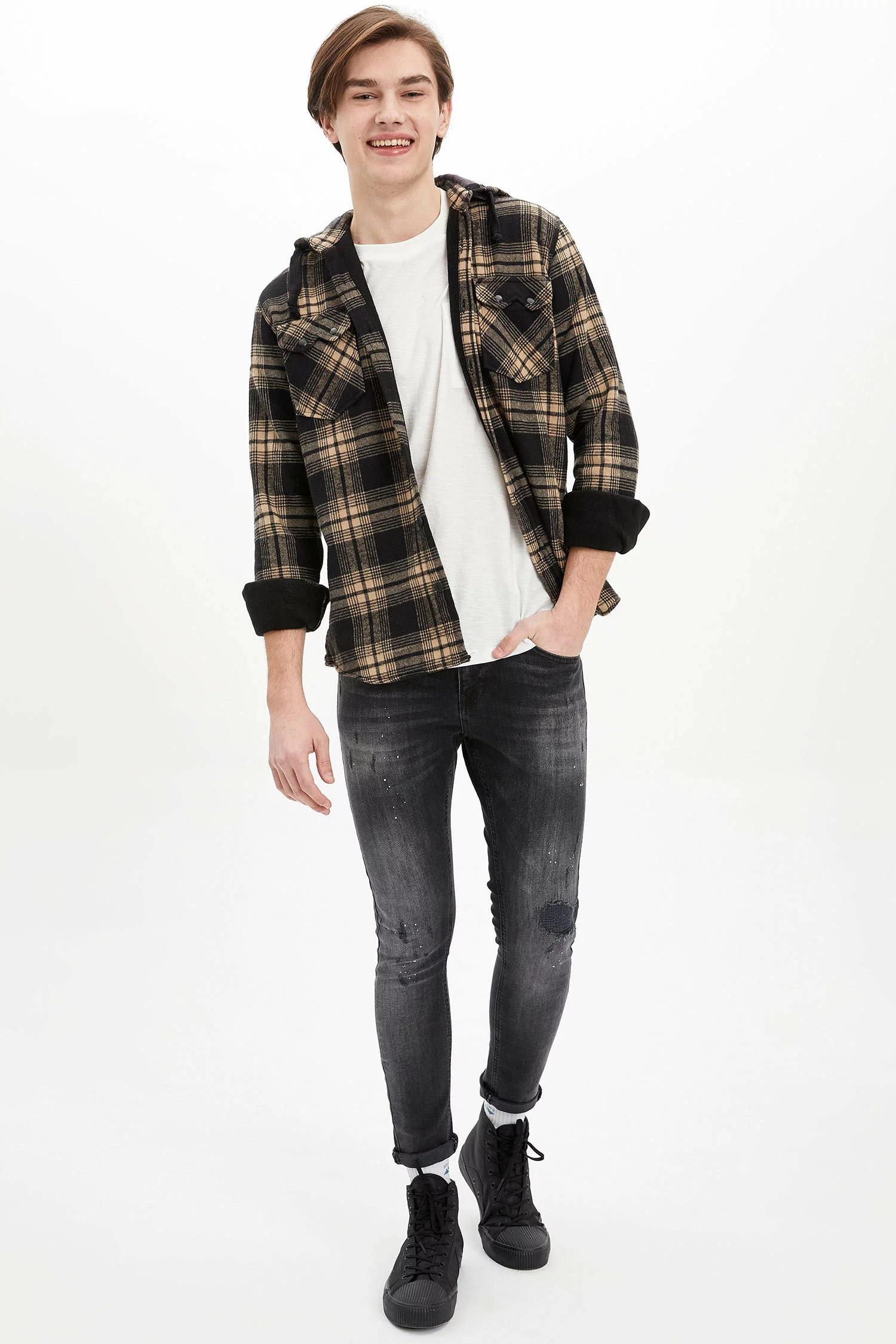 Skinny Comfort Fit Jean Pantolon