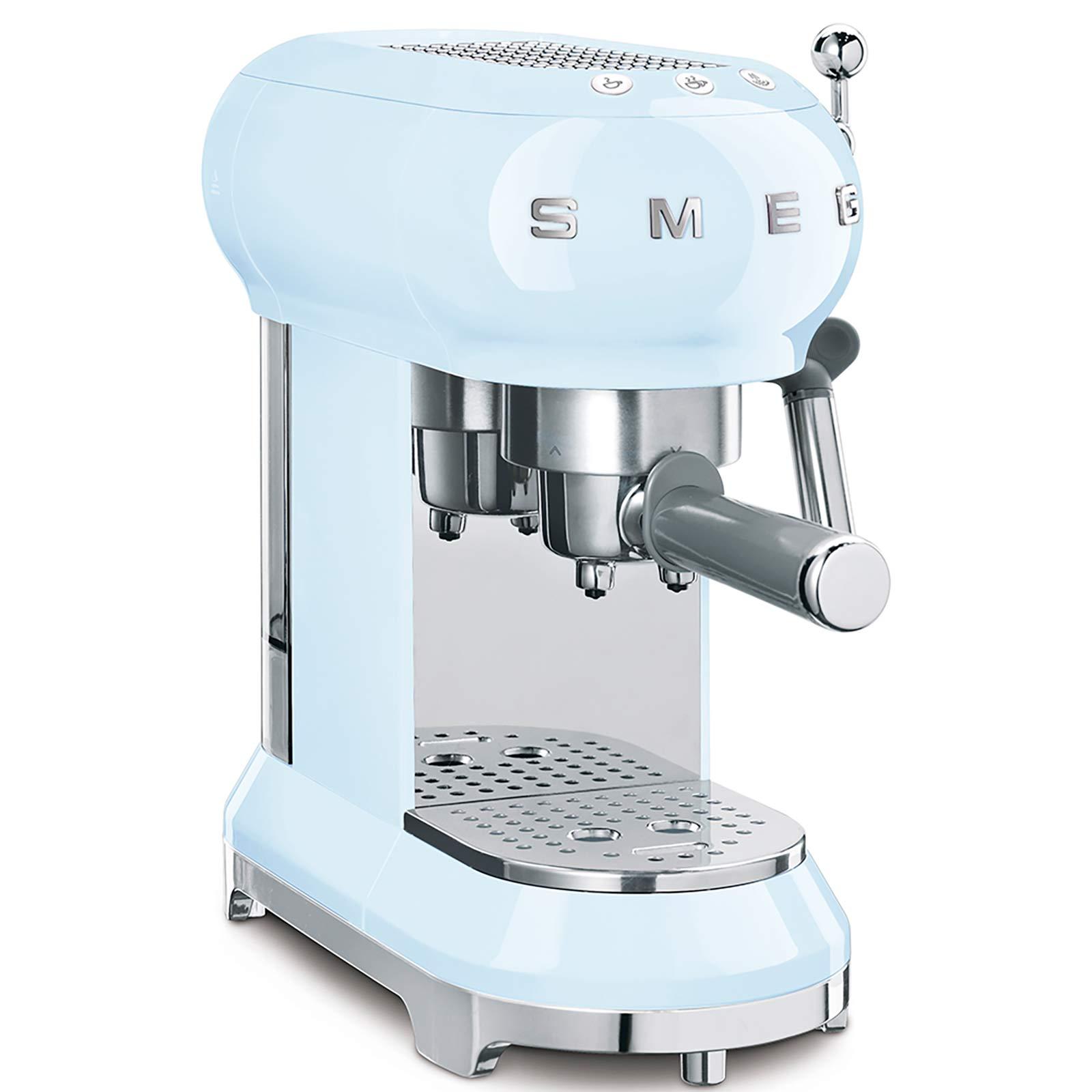 Smeg Espresso Kahve Makinesi Blue