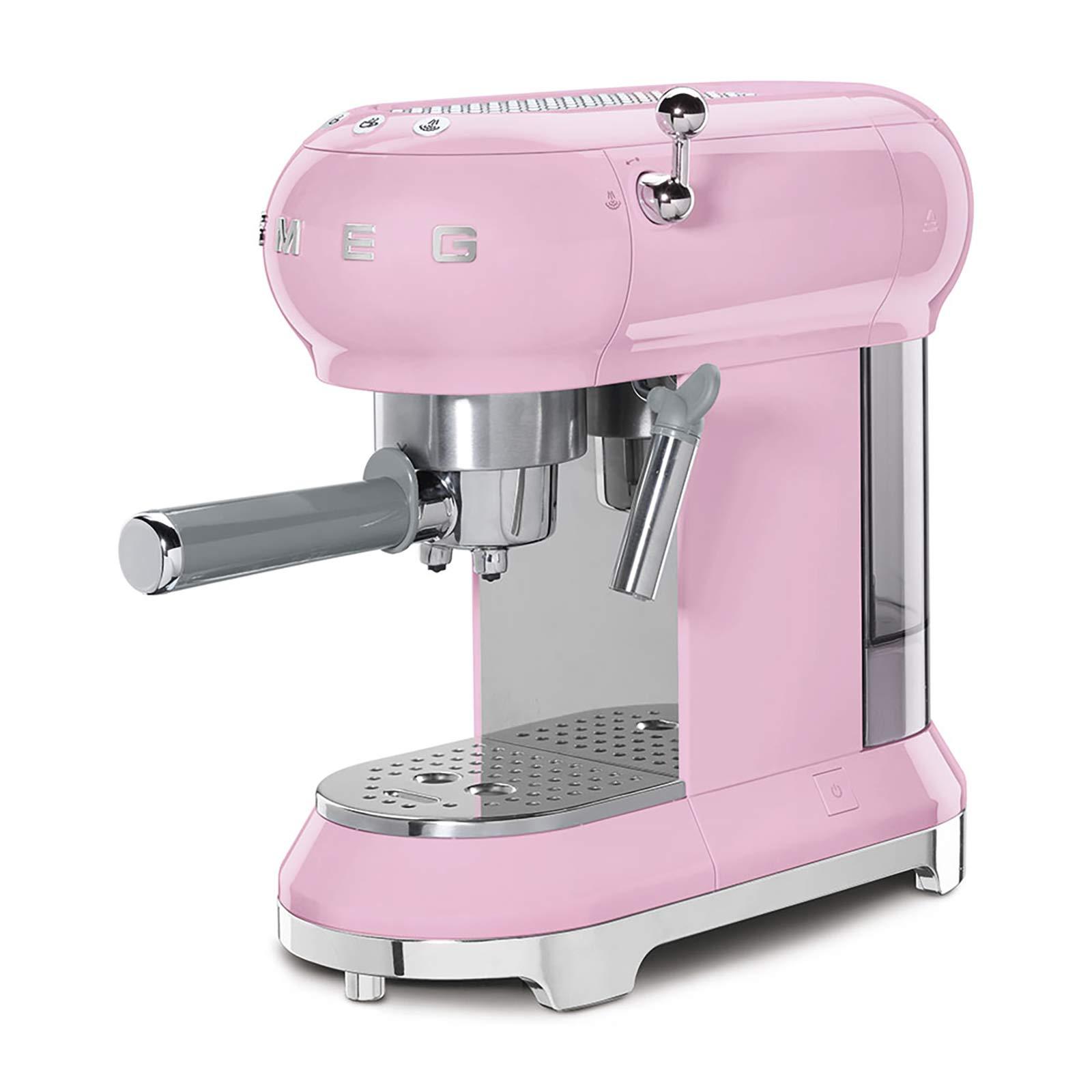 Smeg Espresso Kahve Makinesi Pink
