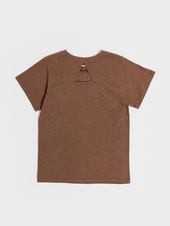 Kırçıllı Pamuklu Basic Tişört-