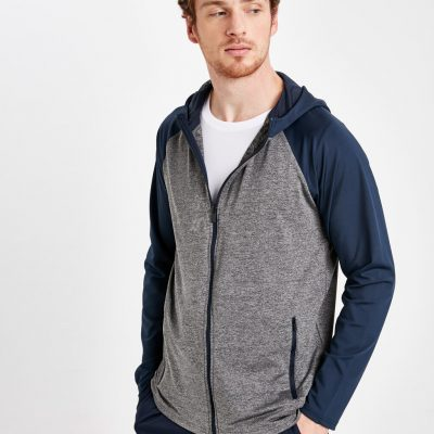 Kapüşonlu Aktif Spor Sweatshirt