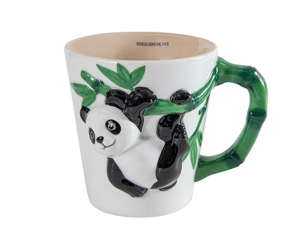 Panda Dolomite Kupa 325 Ml Beyaz - Yeşil-