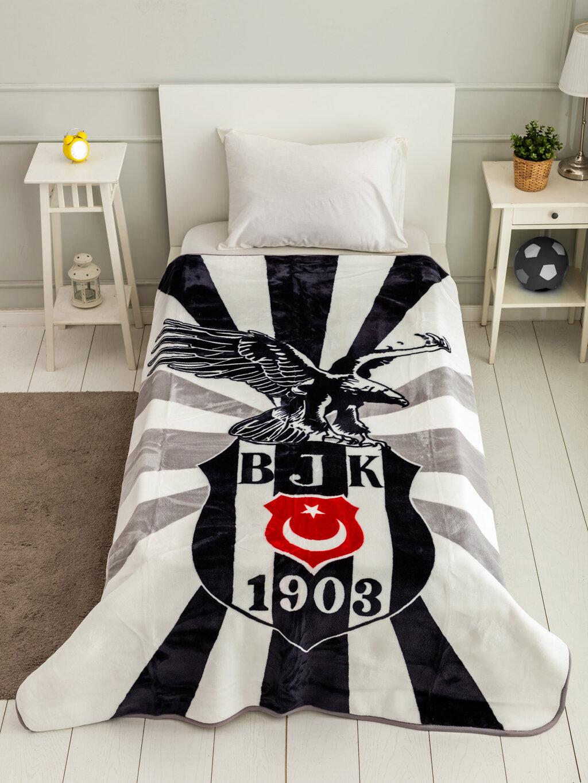 Taç Beşiktaş Lisanslı Çocuk Battaniye-
