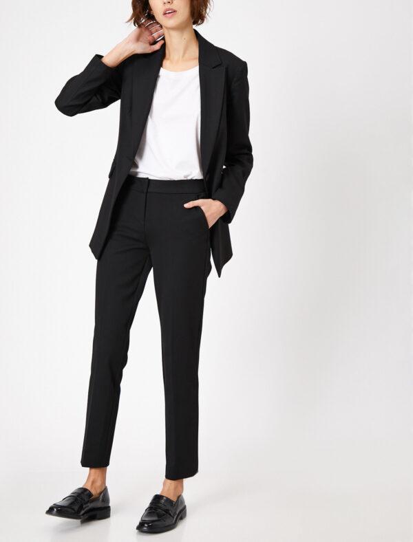 Bilek Boy Slim Fit Pantolon - Siyah