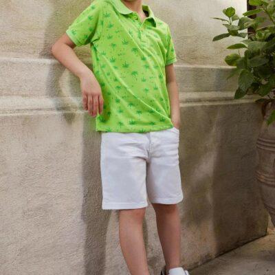 Erkek Çocuk Regular Fit Jean Bermuda