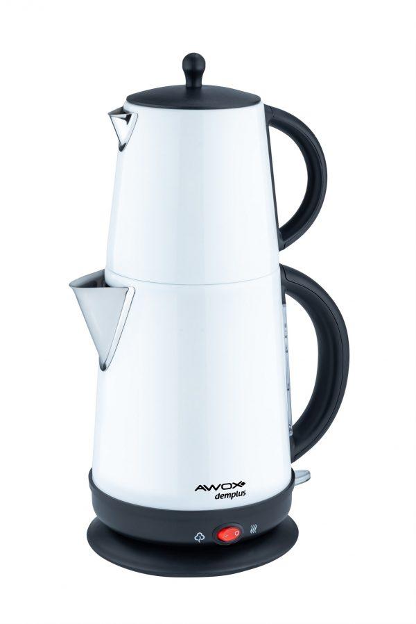 Demplus Beyaz Çay Makinesi