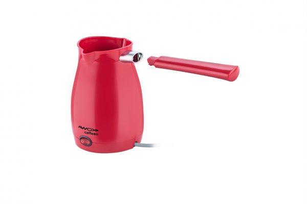 Caffeen Elektrikli Cezve Kırmızı