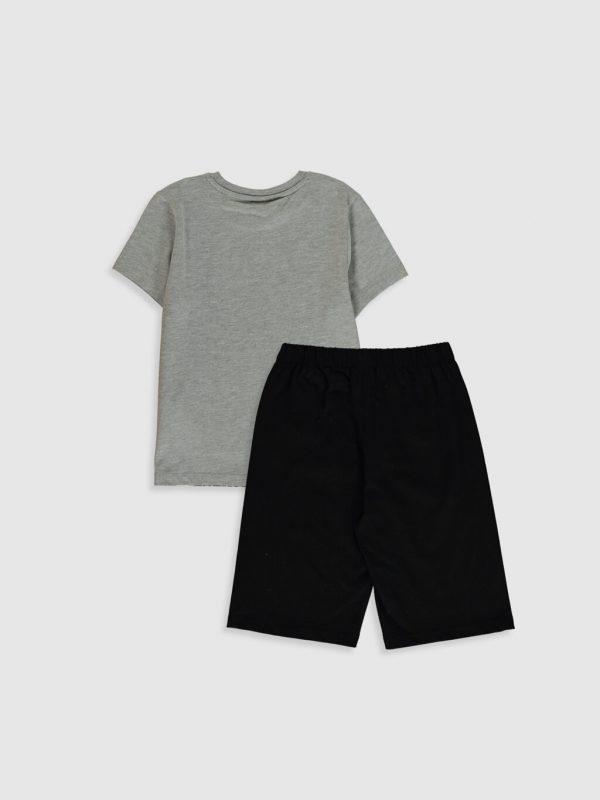 Erkek Çocuk Beşiktaş Amblemli Pijama Takımı
