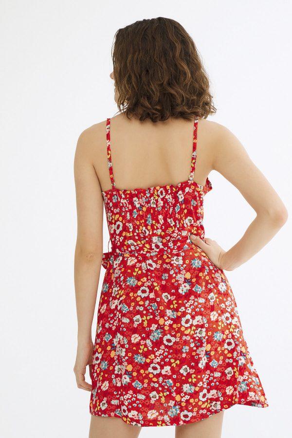 Kırmızı Alexis Elbise 1