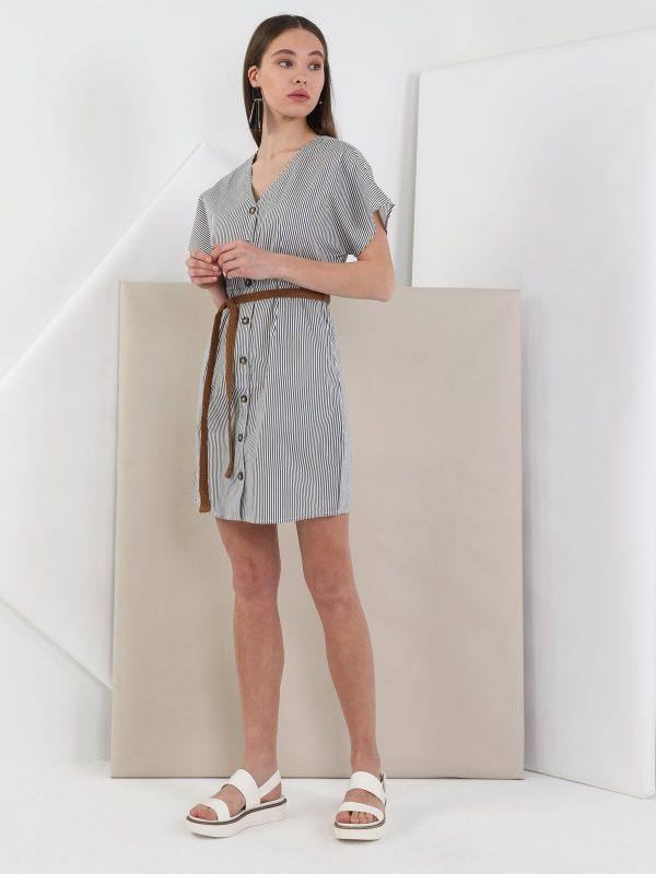 Kadın Dar Kesim Elbise 2