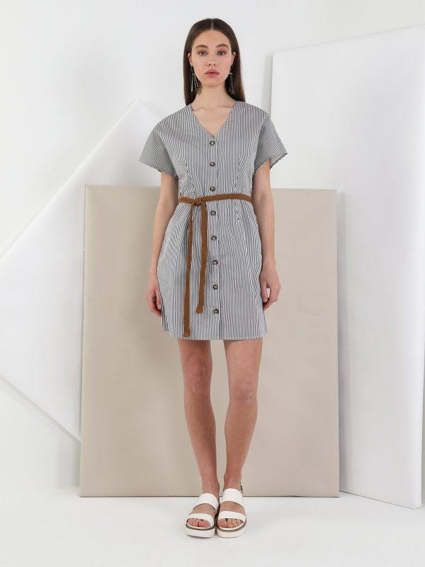 Kadın Dar Kesim Elbise 3