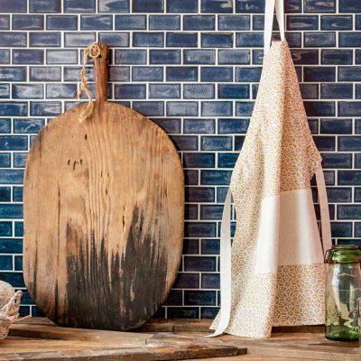 Modest Desenli Mutfak Önlüğü