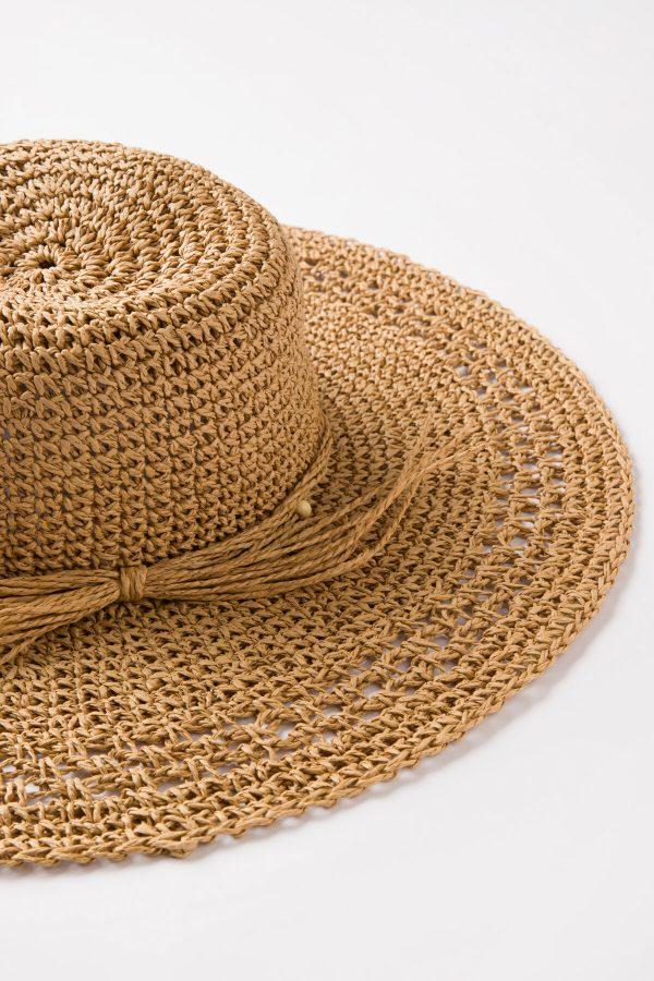 Natural Beige Polly Şapka 1