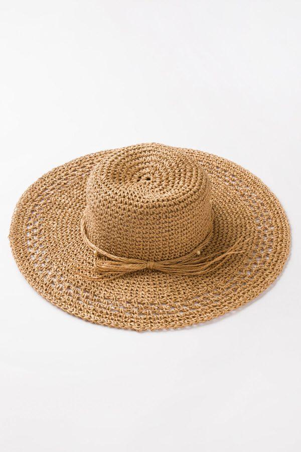 Natural Beige Polly Şapka 2