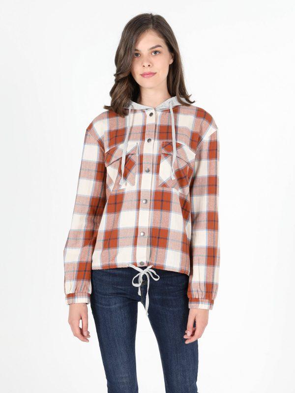 Kadın Uzun Kol Gömlek 3